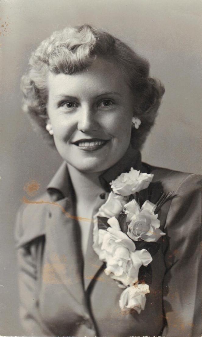 Grandma Betty Lou (Smith) Peterson