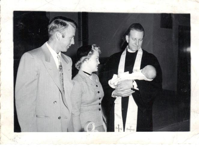 Harold and Betty Peterson with Dennis