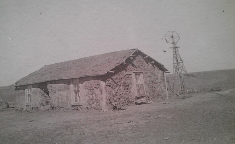 John Peter and Anna Cecilla Sod House