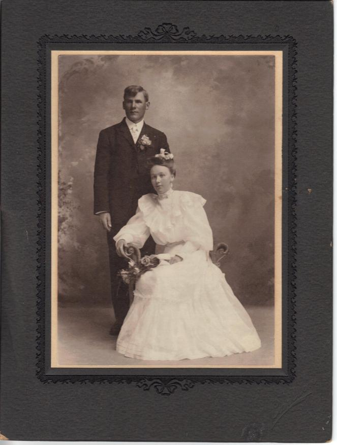 Grandpa Harold Peterson's parents: John Peter and Anna Cecilla (Nelson)