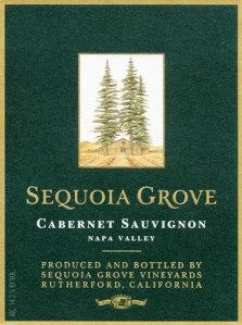 Sequoia Grove Wine Label