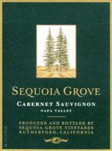 Sequoia Grove Wine Label